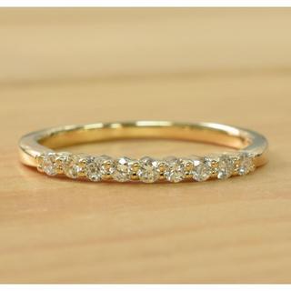 ヨンドシー(4℃)のK18 4℃ ダイヤ リング(リング(指輪))