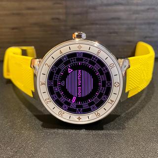 ルイヴィトン(LOUIS VUITTON)の【たあたあたか様専用】タンブールホライゾン&希少ベルト(腕時計(デジタル))