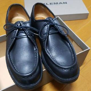 パラブーツ(Paraboot)のKLEMAN チロリアンシューズ 42  ブラック(ドレス/ビジネス)