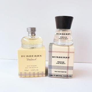 BURBERRY - バーバリー ウーマン ミニ セット