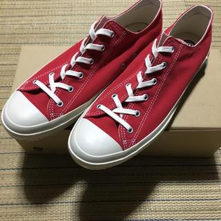 ムーンスター(MOONSTAR )の新品 shoes like pottery スニーカー 赤 27cm (スニーカー)