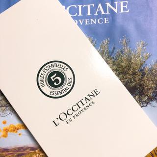 ロクシタン(L'OCCITANE)のロクシタン ウッドミラー 手鏡 ノベルティー 限定品 おまけ付き(*´ー`*)(ミラー)
