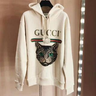 low priced 51597 b1582 GUCCI グッチ パーカー 白