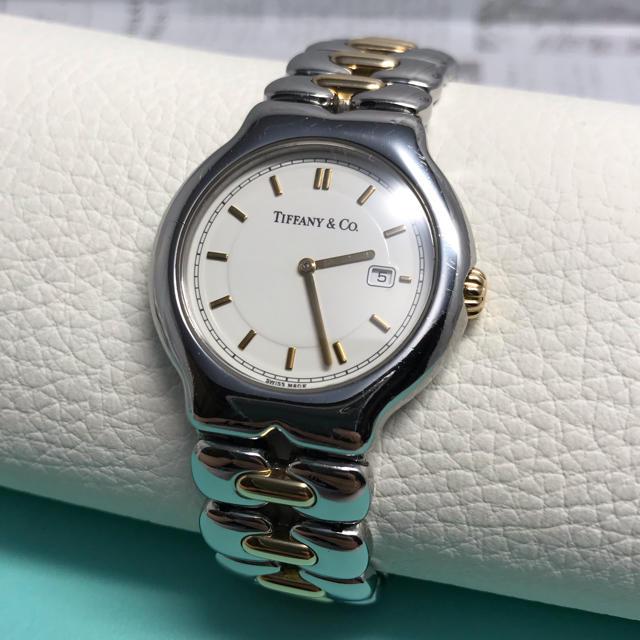 Tiffany & Co. - ティファニー ティソロ SS×18kコンビ 腕時計 メンズ M0112の通販 by ken. maria's shop|ティファニーならラクマ