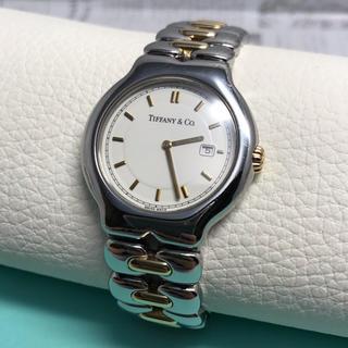 ティファニー(Tiffany & Co.)のティファニー ティソロ SS×18kコンビ 腕時計 メンズ M0112(腕時計(アナログ))