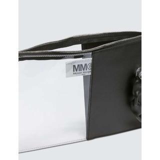 エムエムシックス(MM6)のMM6 MAISON MARGIELA レザー PVC クラッチバッグ(クラッチバッグ)