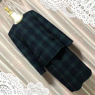 バーバリー(BURBERRY)の秋先取り burberry バーバリー スーツ ジャケット スカート お呼ばれ(スーツ)