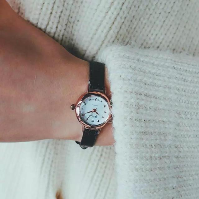 レディース 腕時計 ブラックの通販 by ねこみー's shop|ラクマ