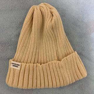 ビームスボーイ(BEAMS BOY)の未使用品 beamsboy infielder design ニット帽(ニット帽/ビーニー)