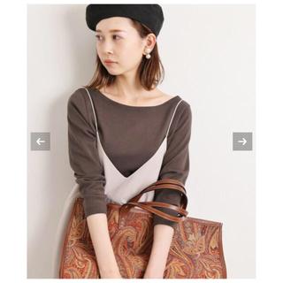 イエナ(IENA)のIENA   AURALEE 別注ボートネックTシャツ(Tシャツ(長袖/七分))