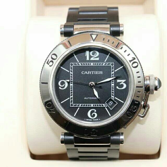 Cartier - CARTIER  自動巻き メンズ ウォッチ 腕時計W31077U2 の通販 by kawaguchi's shop|カルティエならラクマ
