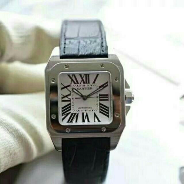 Cartier - カルティエ サントス 100LM W20076X8 自動巻 メンズ 腕時計の通販 by kawaguchi's shop|カルティエならラクマ