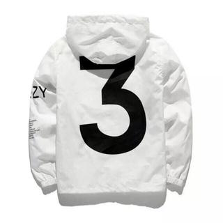 シュプリーム(Supreme)のyeezus tour 3 windbreaker jacket (ナイロンジャケット)