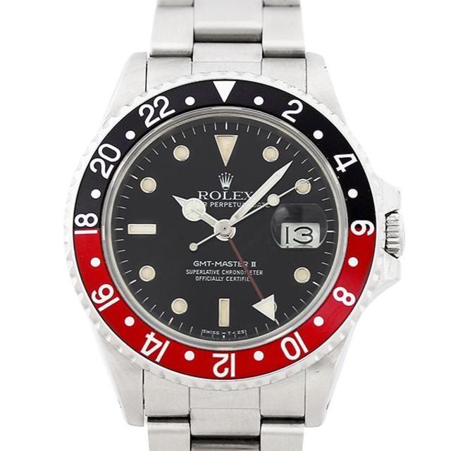 ROLEX - ロレックス GMTマスター2 16760 8番 ステンレススチール 腕時計の通販 by papi's shop|ロレックスならラクマ