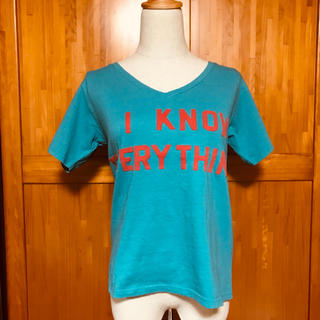 スライ(SLY)の【タグ付き】前後プリントロゴ Tシャツ(Tシャツ(半袖/袖なし))