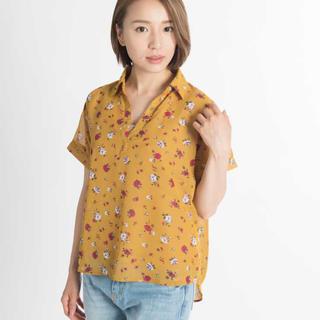ウィゴー(WEGO)のWEGO スキッパーシャツ(シャツ/ブラウス(半袖/袖なし))