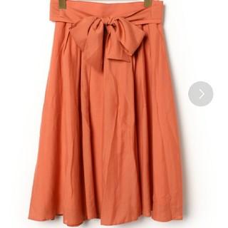 リランドチュール(Rirandture)のリランドチュール オレンジ スカート リボン(ひざ丈スカート)
