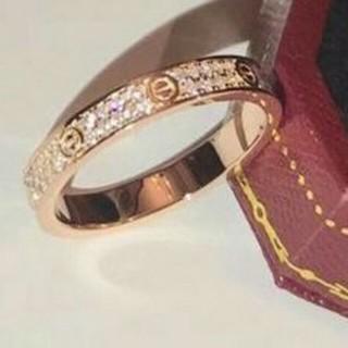 カルティエ(Cartier)の超人気Cartierカルティエ リング 正規品(リング(指輪))