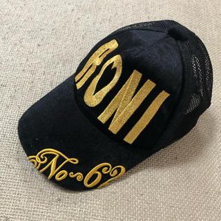 ロニィ(RONI)の最終値下げ♡RONI♡ベロアキャップ(帽子)