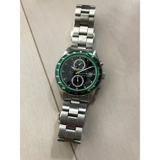 ビームス(BEAMS)のbeams カラークロノグラフウォッチ (腕時計(アナログ))