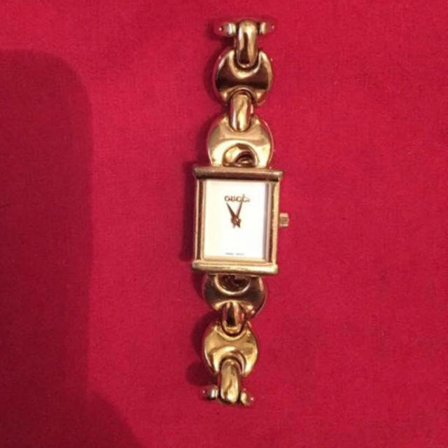 Gucci - グッチ 腕時計 ゴールド 1800lの通販 by K|グッチならラクマ