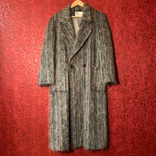ジョンローレンスサリバン(JOHN LAWRENCE SULLIVAN)の【サリバン似】モヘアロングコート mohair long coat 70s(チェスターコート)