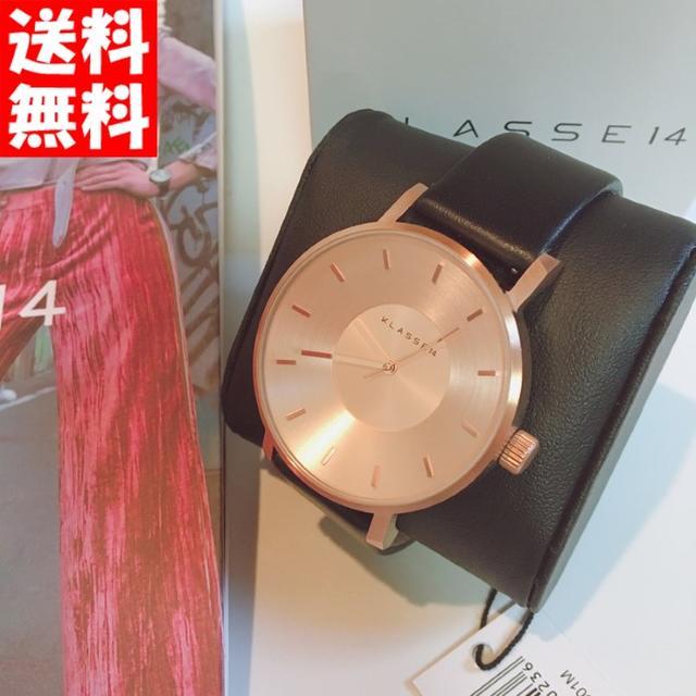 【SALE】KLASSE14 ローズブラック42mm VO14RG001Mの通販 by ☆sachi☆'s shop  |ラクマ