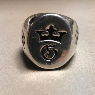 ガボール(Gabor)のgabor  シグネット G&crown (リング(指輪))