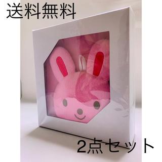 ミキハウス(mikihouse)の【送料無料】ウサギ ゾウ 身長計つきフォトフレーム 160センチ ミキハウス(フォトフレーム)