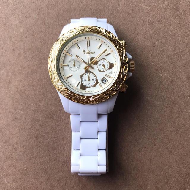 Maxi  ハワイアンジュエリー クロノグラフ 腕時計の通販 by うな美's shop|ラクマ