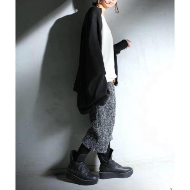 antiqua(アンティカ)の専用ですアンティカ 秋冬物サルエルハーフパンツ レディースのパンツ(サルエルパンツ)の商品写真