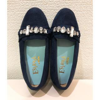 エスペランサ(ESPERANZA)のエスペランサキッズ  靴  17センチ ネイビー(その他)