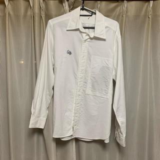 マウンテンリサーチ(MOUNTAIN RESEARCH)のマウンテンリサーチ 白シャツ 長袖シャツ 美品(シャツ)