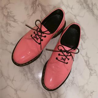 ドクターマーチン(Dr.Martens)のドクターマーチン ピンク♡(ローファー/革靴)