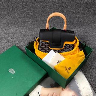 ゴヤール(GOYARD)の新品同様❣️室内試着のみ❣️   ★雑誌掲載★GOYARD サイゴン ミニ (ハンドバッグ)