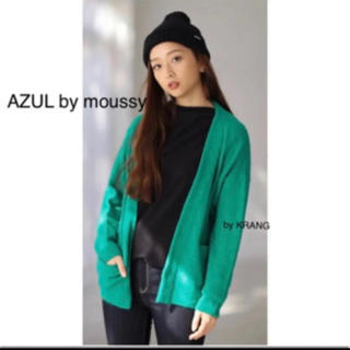 アズールバイマウジー(AZUL by moussy)のAZUL by moussy エアリー ライト ニット ドルマン 長袖 トッパー(カーディガン)