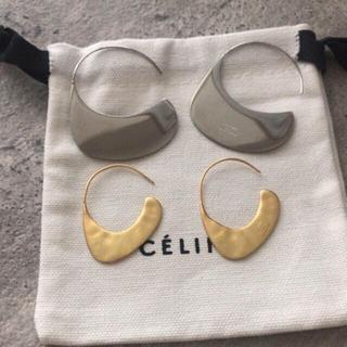 エストネーション(ESTNATION)のG様専用 巾着付×フープピアス2セット(リング(指輪))