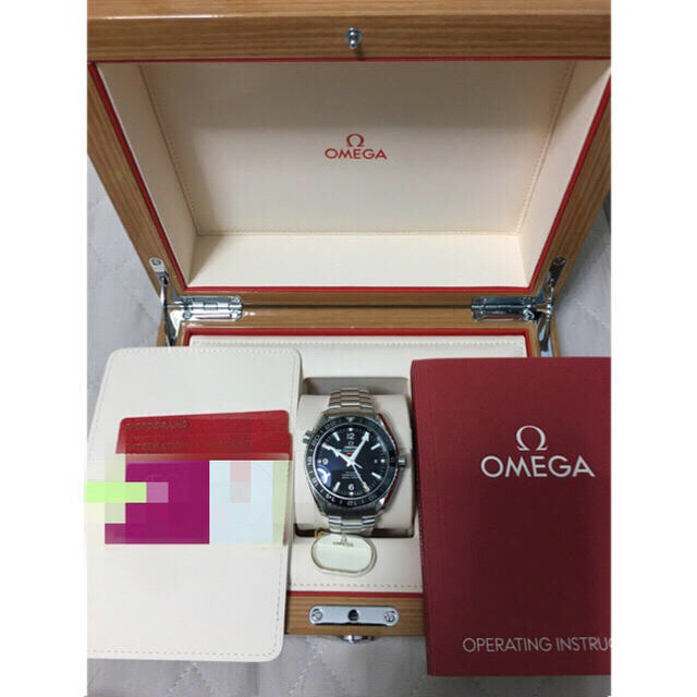 OMEGA - OMEGA・プラネットオーシャン・GMT・232.30.44.22.01.001の通販 by rintaro305's shop|オメガならラクマ