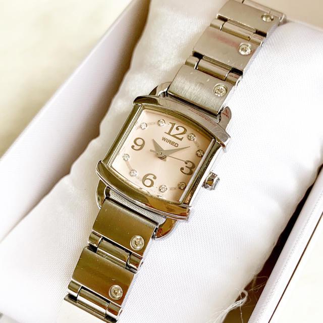 WIRED - 電池交換込み☆ セイコー ワイアード レディース腕時計の通販 by Pinor's shop|ワイアードならラクマ