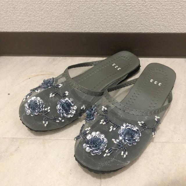 mystic(ミスティック)のベトナムメッシュサンダル グレー 39 レディースの靴/シューズ(サンダル)の商品写真