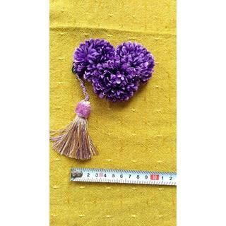 フリフ(ふりふ)の【ふりふ】髪飾り【紫】【ハート】(その他)