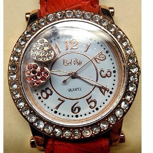 腕時計 レディース ラインストーン ハート シンプル ウォッチ の通販 by はさっち's shop|ラクマ