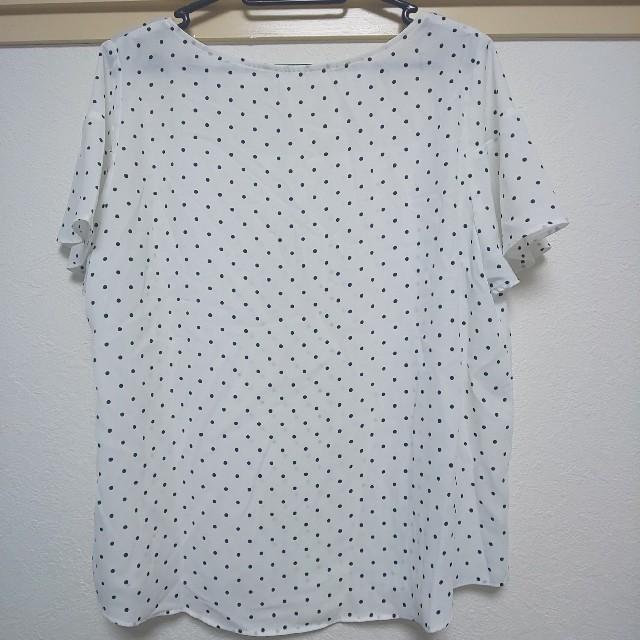 GU(ジーユー)のGU 半袖 ブラウス レディースのトップス(シャツ/ブラウス(半袖/袖なし))の商品写真