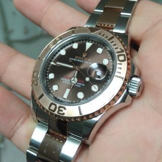 ロレックス(ROLEX)の極美品!付属品◎ロレックス ヨットマスター 116621 チョコ ブラウン文字盤(腕時計(アナログ))