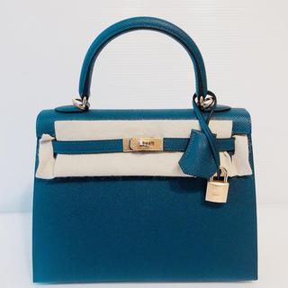 エルメス(Hermes)の最新色★ ディープブルー ケリー25 外縫い エルメス バッグ(ハンドバッグ)