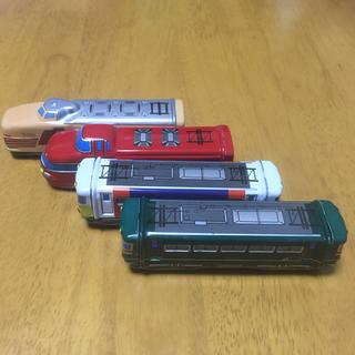 お値下げ!ブリキの電車 4個セット(電車のおもちゃ/車)