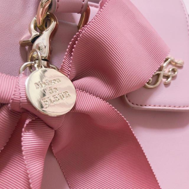 Maison de FLEUR(メゾンドフルール)の最終値下げ メゾンドフルール リボンチャームMバッグmaisondeflour レディースのバッグ(ハンドバッグ)の商品写真