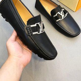 ルイヴィトン  メンズ ビジネス スリッポン 革靴