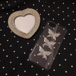 ~silver butterfly iPhonecase~(スマホケース)