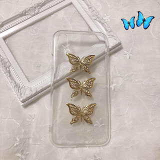 ~gold butterfly iPhonecase~(スマホケース)